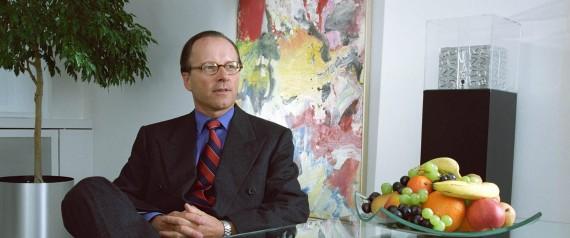 L'industriale svizzero Stephan Schmidheiny in una immagine del marzo 1997. ANSA/MARTIN RUETSCHI