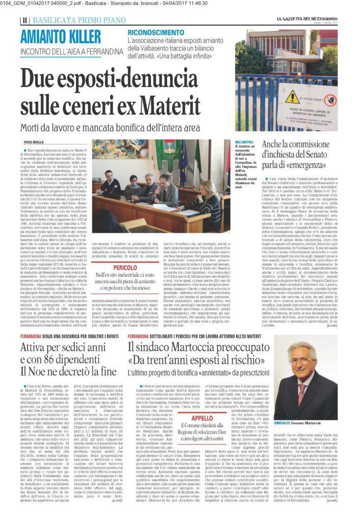 20170401-la Gazzetta del Mezzogiorno_conferenza Ferrandina