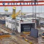 (ANSA) - ANCONA, 15 GEN - Fincantieri: cenni di attività negli stabilimenti di Ancona